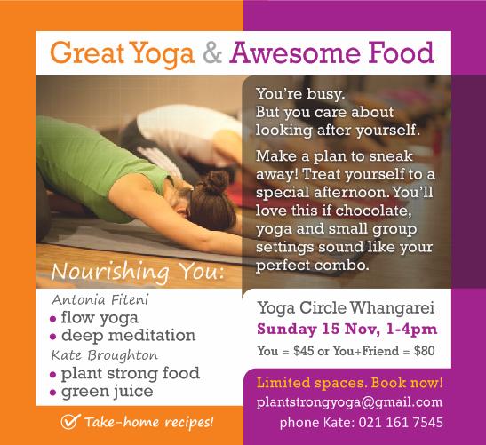 Nourishing you Nov