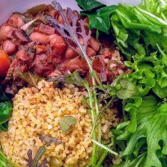 borlotti beans & bulghur (Small)