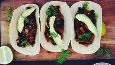 black bean tacos (Small)