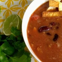 Mexican bean soup (Small)